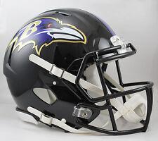 BALTIMORE RAVENS NFL Riddell SPEED Full Size AUTHENTIC Football Helmet