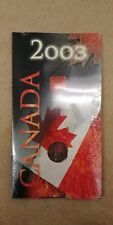 2003 Canada 25 Cents Coin, Colorized quarter, mint sealed Canada Day Celebration