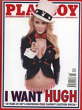 US Playboy Magazine 2012-11 Anna in La Strada, Britany Nola, Hef's Girlfriends