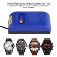 Pro Watch Repair Screwdriver Tweezers Electrical Demagnetise Demagnetizer Tools