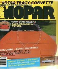 July 1990 High Performance Mopar Landy 1957 Coronet 1971 Hemi-Charger Stealth