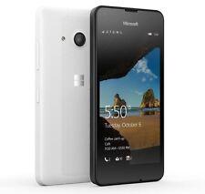 MICROSOFT NOKIA LUMIA 550 WHITE 4G UNLOCKED SMARTPHONE WINDOWS 10 GRADE A