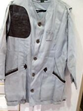 Vintage 50s 60s 10-X Gray Skeet Shooters Jacket Sz 44 1925 Colo Rifle Club