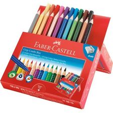 Kredki flamastry FABER-CASTELL Grip CombiBox 12+10