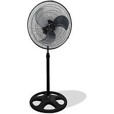 "Premium Large High Velocity Industrial Floor Fan with 18"" Floor Stand Mount"
