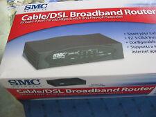 SMC Barricade 100 Mbps 4-Port 10/100 Wireless Router (SMC7004VBR) upc 6626985710