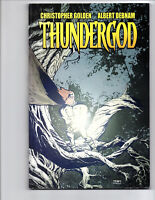 THUNDERGOD TPB DIGITAL WEBBING MEGA RARE NORSE MYTHOLOGY THOR CHRISTOPHER GOLDEN