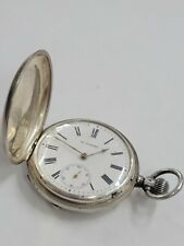 Pocketwatch - Runs - Vt100 Rare Vintage Russian .875 Silver