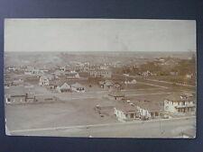 Lethbridge Alberta Canada Town Railway Bridge Real Photo Postcard RPPC c1910
