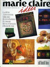 Revue comme NEUVE  Marie Claire Idées  n°15 DECEMBRE  1994