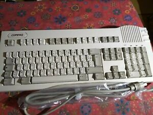 Vintage Compaq Clavier Volcalyst PC Keyboard 148079-105- Made in USA
