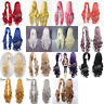 100CM Fashion Women Long Curly Wavy Synthetic Hair Party Cosplay Full Wig 001A