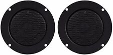 "New Pair Vintage Style Super Duty 4"" Tweeter Phenolic Ring w/ Protective Grill"