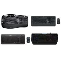 Logitech Keyboard Wired | Logitech Keyboard Wireless - All Models and Bundles
