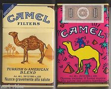 CAMEL FILTERS cigarette Italy empty pack ANNIVERSARY 1993 #6 Donne incinte: ...