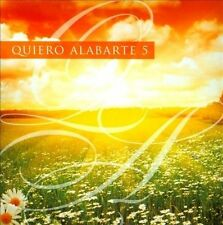 Quiero Alabarte, Vol. 5 by Various Artists (CD, 2012, Maranatha! Latin)