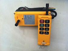 8 Channels Hoist Crane Radio Remote Control System 24V AC/DC