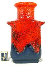 Stunning 70´s design Dümler & Breiden Fat Lava pottery Keramik vase 604  / 30
