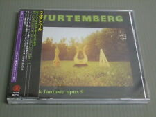 WURTEMBERG France CD with JAPANESE OBI, ROCK FANTASIA OPUS 9
