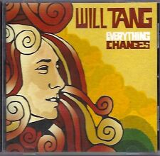 """Will Tang : """"Everything Changes"""" CD 2009"""