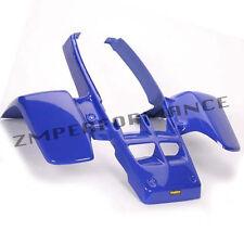 NEW YAMAHA BANSHEE YFZ 350 DARK BLUE PLASTIC STANDARD FRONT FENDER PLASTICS
