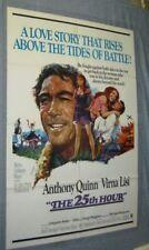Original 25TH HOUR Anthony Quinn Virni Lisi NEAR MINT
