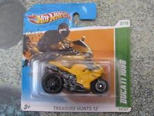 Hot Wheels 2012 # 052/247 Ducati 1098 Treasure Hunt Giallo Bicicletta T-Hunt