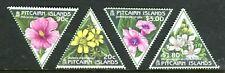 1998 Pitcairn Islands Botanic Issue - Muh Complete Set of 4 Stamps