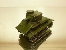 DINKY TOYS 48 TANK  - GREEN 1:43 FAIR  CONDITION - NO BOX
