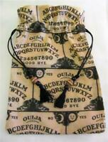 Ouija Board Theme Wicca Pagan Tarot Card Drawstring Mojo Bag Pouch ~ FREE SHIP