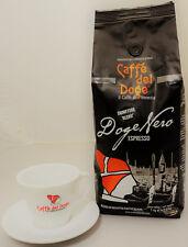 Caffe del DOGE Nero, 10 Kg Bohnen, Espresso, Kaffee, inkl. 2 Cappuccinotassen
