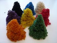 Heidifeathers Mixed Wool Nepps - Large pack - slubs, burrs - felting + spinning