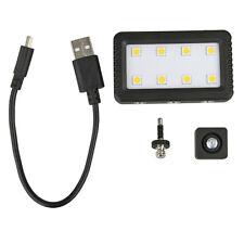 8 Led Mini Video Lámpara Antorcha Luz Para Cámara Réflex Digital Smartphone