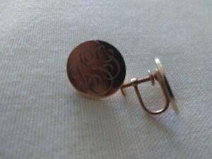 TIFFANY & CO 14k yellow gold clip on earrings