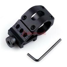 Quick Release Scope Mount Ring Adapter 20mm Rifle Laser Mount for Flashlight