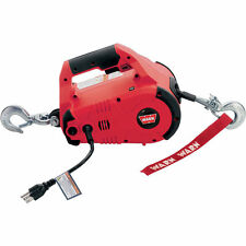 WARN PullzAll Handheld 120 Volt Electric Pulling Tool — Red, 1000-Lb#885000