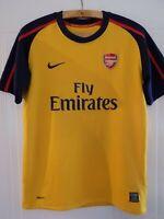 Original 2008 2009 Nike Jack Wilshere Arsenal Soccer Football Jersey Shirt Away