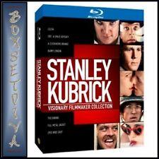 STANLEY KUBRICK- VISIONARY FILMMAKER COLLECTION * BRAND NEW BLU-RAY REGION FREE