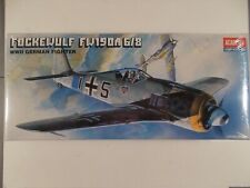 Academy 1/72 2120 Focke-Wulf FW190A 6/8 Kit Sealed NIB