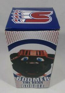 Spokane Chiefs Hockey CHL Boomer The Bear Mascot SGA Bobblehead Collectible New