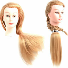 "Hair Mannequin Head 26-28"" Cosmetology Beauty Training Braiding #27 Blonde Dolls"
