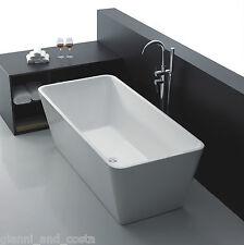 Bathroom Acrylic Free Standing Bath Tub Thin Edge 1700 x 800 x 600 Freestanding