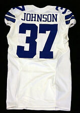 #37 Matt Johnson Authentic Team Issued Dallas Cowboys Nike Jersey - 2012 Season