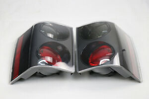 2pcs Black Left Right Tail Light Lamp For Land Rover Range Rover Vogue 02-09 OA