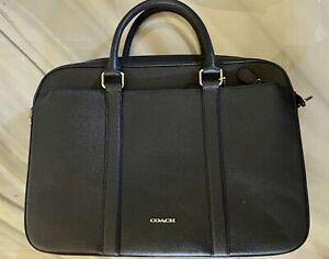 """Coach Laptop Bag Briefcase Fits 15"""" Laptops"""