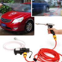 Tragbare Hochdruck Waschmaschine Power Pumpe selbstansaugend Car Wash Kit 12V 65