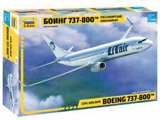 Zvezda 7019 BOEING 737-800 Civil Airliner Model Kit 1:144