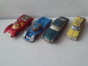 Dinky 153 Aston Martin DB6, 200 Matra 630, 220 Ferrari P5, 141 Victor Estate Lot