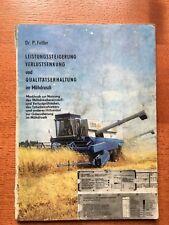 alte Betriebsanleitung Mähdrescher Fachbuch Gebrauchsanleitung DDR