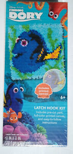 Dimentions Craft Kit Disney Dory Latch Hook Kit Printed Canvas 12x12 NEW